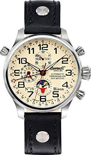 Ingersoll Bison Bison NO 19 IN6106CR Herren Automatikchronograph Massives Gehaeuse