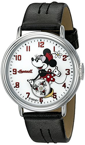 Ingersoll Minnie Maus Herren ind 26503 Ingersoll Disney Minnie Maus beweglichen Arm Analog Display Quartz Black Watch