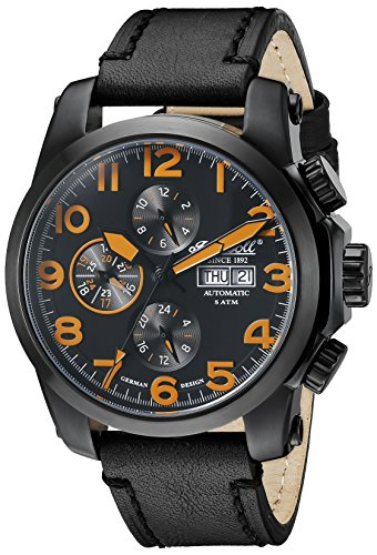 Ingersoll Unisex Armbanduhr Analog Automatik IN2301BBKO