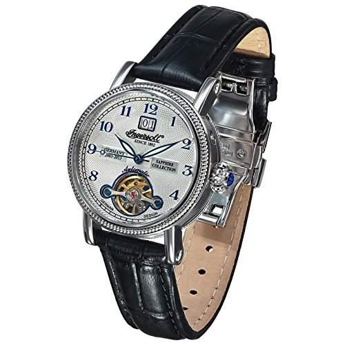 Ingersoll Damen-Armbanduhr XS Rebecca II Analog Automatik Leder IN4910WH