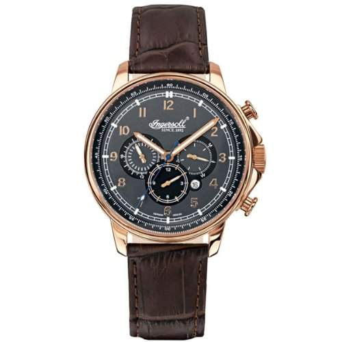 Ingersoll Herren-Armbanduhr Russel Analog Automatik IN3215RGY