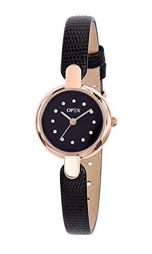 Opex Damen-Armbanduhr Safarina Analog Quarz Leder X3826LA1