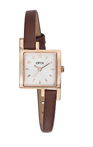 X3236LA1-Tag-Opex Damen-Armbanduhr Lolla Quarz analog Leder Braun