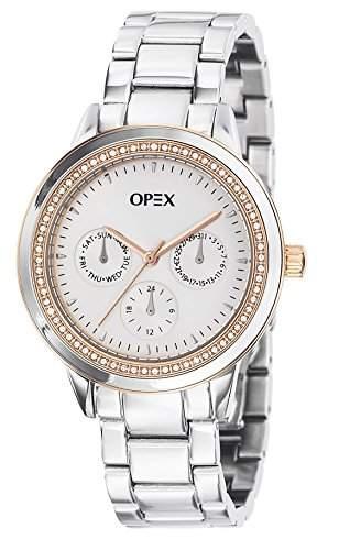 - X4021MA1-Twentynine Opex Damen-Armbanduhr Alyce Quarz analog Stahl Silber