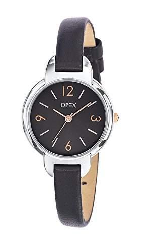 Opex Damen-Armbanduhr Amy Analog Quarz Leder X4031LA1