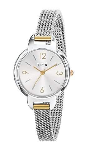 Opex Damen-Armbanduhr Amy Analog Quarz Edelstahl X4034MA1