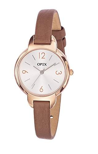 Opex Damen-Armbanduhr Amy Analog Quarz Leder X4036LA1
