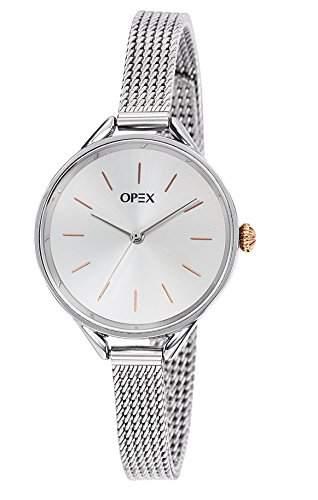 Opex Damen-Armbanduhr See You Soon Analog Quarz Edelstahl X4051MA1
