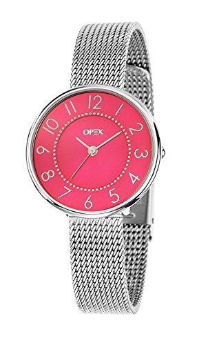Opex Damen Armbanduhr Carolyn Analog Quarz Edelstahl X3991MA2