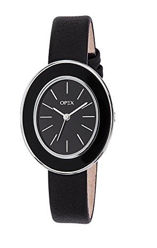 Opex Damen Armbanduhr Carrare Analog Quarz Leder X3961LA1