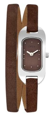 Opex Damen-Armbanduhr Analog Leder X0391LD3