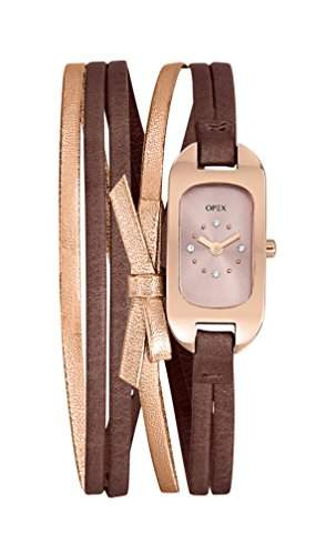 Opex Damen-Armbanduhr Ballerine Analog Quarz Mehrfarbig X0396LA1