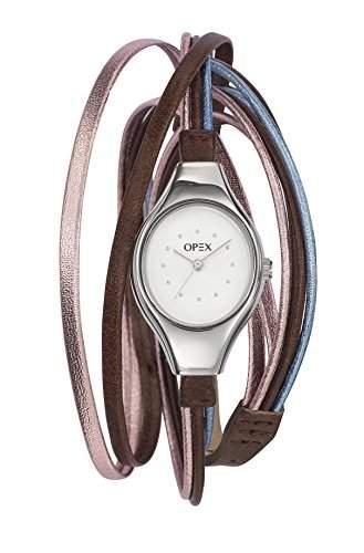 Opex Damen-Armbanduhr Filante Analog Quarz Leder X2341LE4