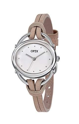 Opex Damen-Armbanduhr Analog Leder X2391LC1
