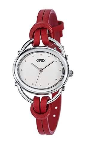 Opex Damen-Armbanduhr Analog Quarz Rot X2391LC4