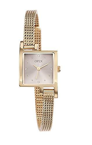 Opex Damen-Armbanduhr Jour Analog Quarz Edelstahl X3233MA1