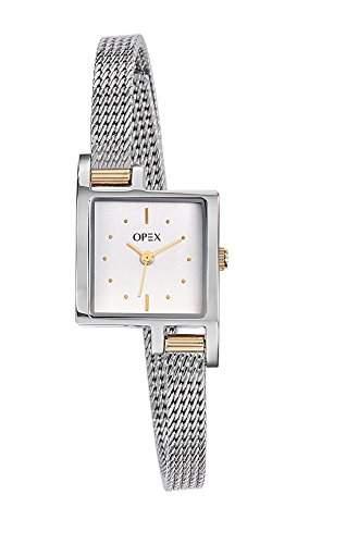 Opex Damen-Armbanduhr Jour Analog Quarz Edelstahl X3234MA1