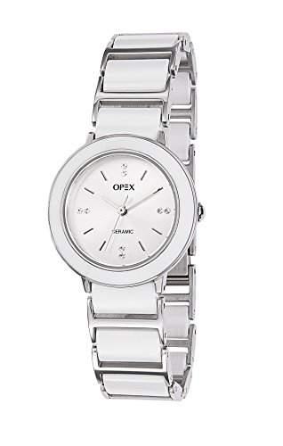 Opex Damen-Armbanduhr Luxia Analog Quarz Keramik X3921CA2
