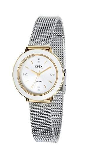 Opex Damen-Armbanduhr Luxia Analog Quarz Edelstahl X3924CA1
