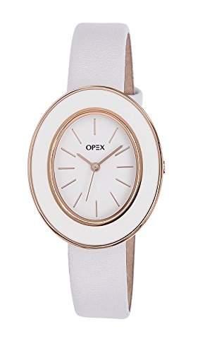 X3966LA1-Carrara-Opex Damen-Armbanduhr Lolla Quarz analog Leder Weiss