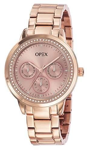 - X4023MA1-Twentynine Opex Damen-Armbanduhr Alyce Quarz analog Stahl goldfarben