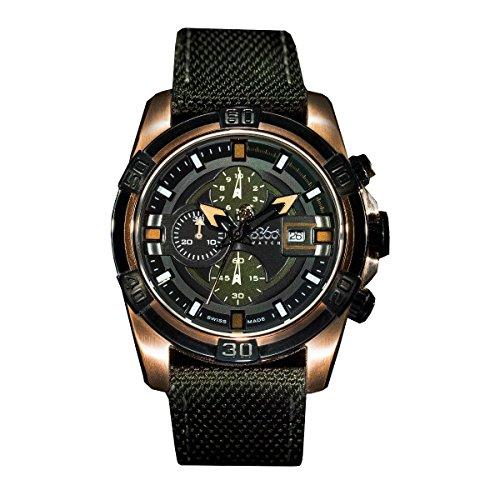 B360 WATCH Unisex Armbanduhr B CLASS ONE IPRG Large 10 bars Analog Quarz verschiedene Materialien 2000002