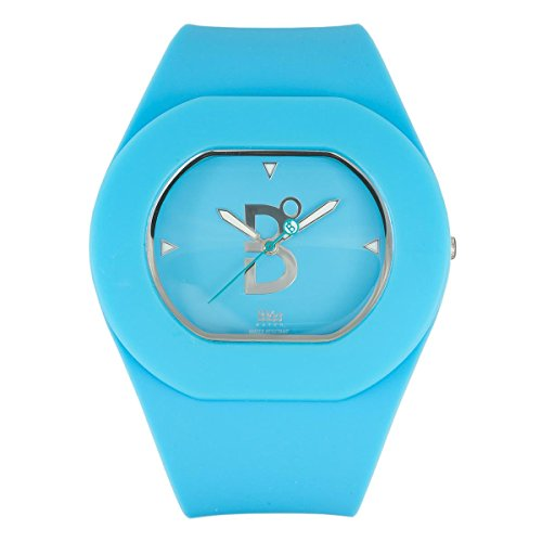 B360 WATCH Unisex Armbanduhr B COOL Blue Medium 3 bars Analog Quarz Silikon 1070030