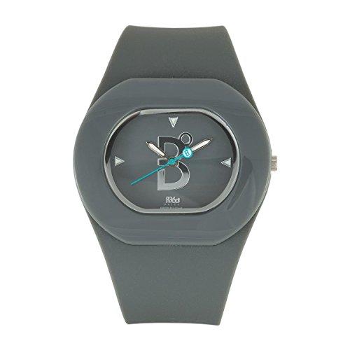 B360 WATCH Unisex Armbanduhr B COOL Grey Medium 3 bars Analog Quarz Silikon 1070037