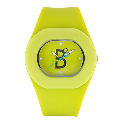 B360 WATCH Unisex Armbanduhr B COOL Lime Medium 3 bars Analog Quarz Silikon 1070038