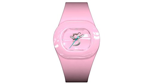 B360 WATCH Unisex Armbanduhr B COOL Pink Small 3 bars Analog Quarz Silikon 1070102