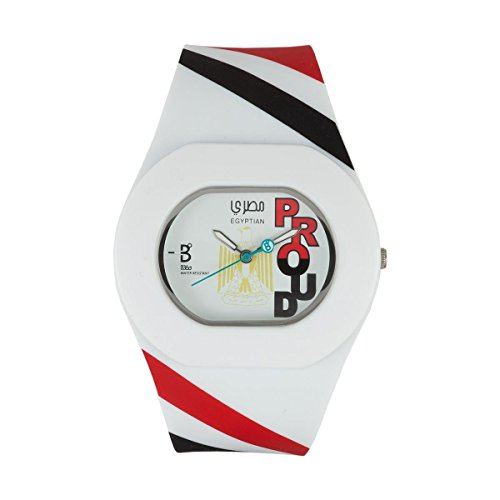 B360 WATCH Unisex Armbanduhr Medium 3 bars Analog Quarz Silikon B PROUD Egyptian