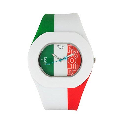 B360 WATCH Unisex Armbanduhr Medium 3 bars Analog Quarz Silikon B PROUD ITALIAN