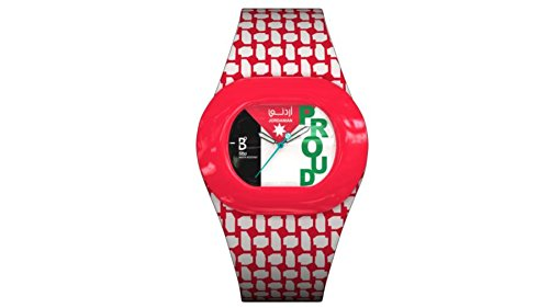 B360 WATCH Unisex Armbanduhr B PROUD Jordanian Medium 3 bars Analog Quarz Silikon 1050014
