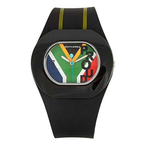 B360 WATCH Unisex Armbanduhr B PROUD Medium 3 bars Analog Quarz Silikon South African