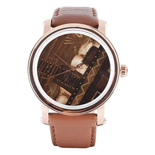 B360 WATCH Unisex Armbanduhr Analog Quarz Leder B UNIQUE Swiss Men CERTIFICATE ABM140110
