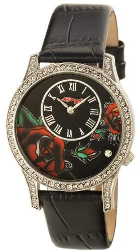 ED Hardy Damenarmbanduhr Womens Antoinette Collection AN-BL