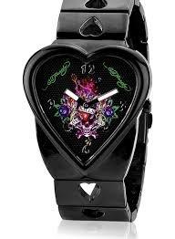 Ed Hardy CR LK Damen Crush Love Kills Armbanduhr