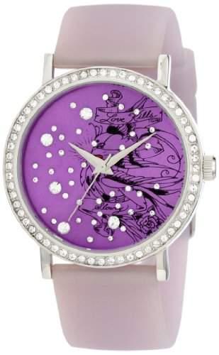 Ed Hardy Damen LV-PU Love Bird Purple Uhr