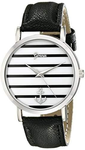DragonPad Fashion Damen Sport Uhren Armbanduhr Damenuhr Geschink Analog weiss schwarz