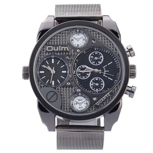 DragonPad Luxus Herren Sport Uhren Armbanduhren Sportuhr Analog Wrist Watch Datum Edelstahl Muti funktion