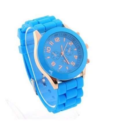 Armbanduhr Damenuhr Herrenuhr Sportuhr Damen Herren Sport Uhren Geschink Watch Blau