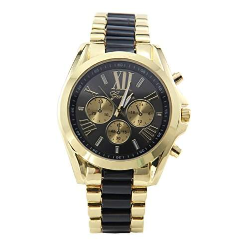DragonPad Herren Uhren Armbanduhren Herrenuhr Analog golden Wrist Watch
