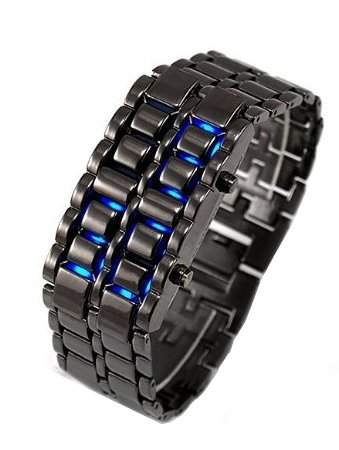 DragonPad Mode Herren Sport Uhren Armbanduhren Herrenuhr Sportuhr Digital Wrist Watch schwarz blau LED