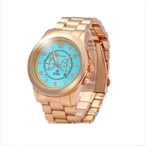Armbanduhr Herrenuhr Uhren Uhr Analog Geschink watch gift golden