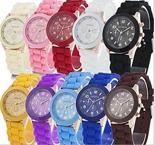 DragonPad 10 * Fashion Damen Sport Uhren Armbanduhr Damenuhr Geschink Analog bunt