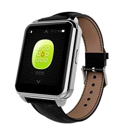 Teckey® Bluetooth smart Watch Handy-Uhr fuer Android iOS Smartphone Herzfrequenzmesser Uhr mit Bluetooth