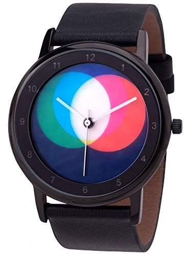 Avantgardia RGB - black leather NEUES DESIGN