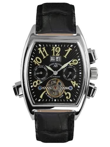 André Belfort Herren-Armbanduhr Royale Date Schwarz 410003