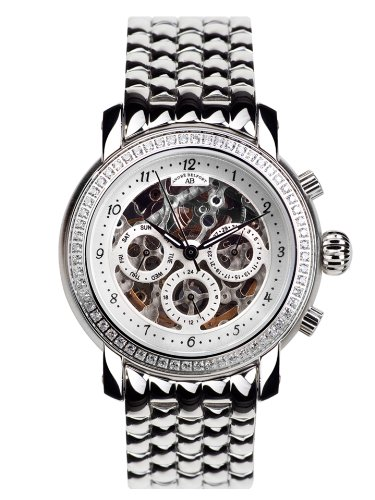 Andre Belfort Andre Belfort Damen Armbanduhr Intemporelle Silber Stahl 410142 silber