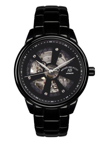 Andre Belfort Herren Armbanduhr Roue Du Temps Ip Schwarz 410168